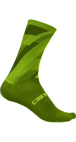 Castelli Geo 15 Socks Unisex pro green